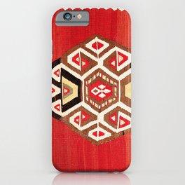 Shahsavan Azerbaijan Northwest Persian Kilim Print iPhone Case