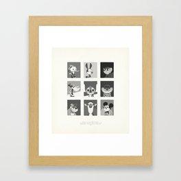 Super Mercredi Bros Heroes (1/8) Framed Art Print