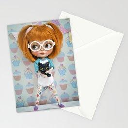 Erregiro Blythe Custom Doll Carmencita & Sócrates Stationery Cards