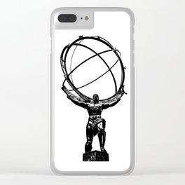 Atlas Clear iPhone Case