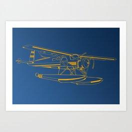 Dutone seaplane Kunstdrucke