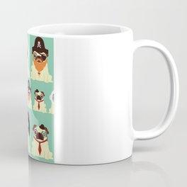 Pug pattern Coffee Mug