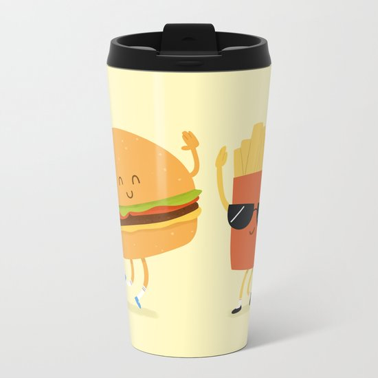 BFFs Metal Travel Mug