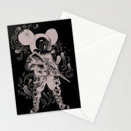 Full Metal Mickey Maus Stationery Cards