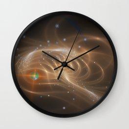 Cosmic Expanse Wall Clock