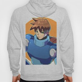 Blue Armor Boy Hoody