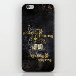 Reading & Writing iPhone Skin