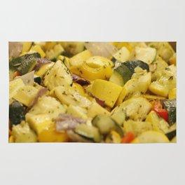 Steamed Vegetables Rug