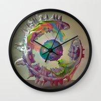 archan nair Wall Clocks featuring Korah by Archan Nair
