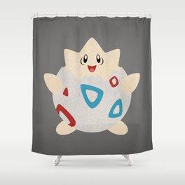 Paper Togepi Shower Curtain