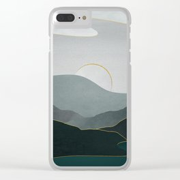 Minimal Landscape 08 Clear iPhone Case