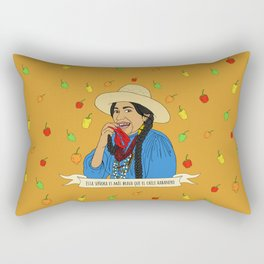 La India Maria Rectangular Pillow