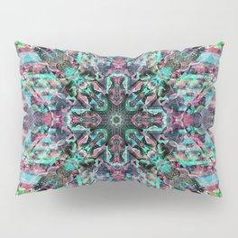 Pink n blue Pillow Sham