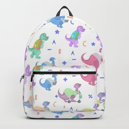 Dinosaurs back to school Backpack
