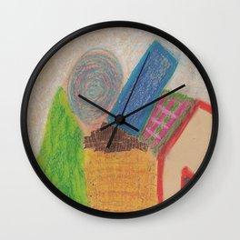 Haystack Wall Clock