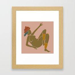 Hat! Framed Art Print