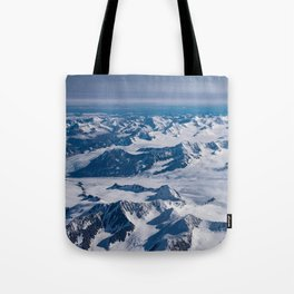Aerial Glacier Four - Alaska Tote Bag