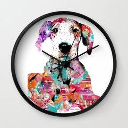 Mila the Dane Wall Clock