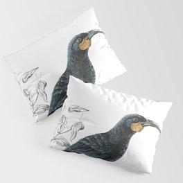 Huia, native bird of New Zealand Pillow Sham