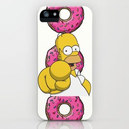 Serious Homer Simpson iPhone Case