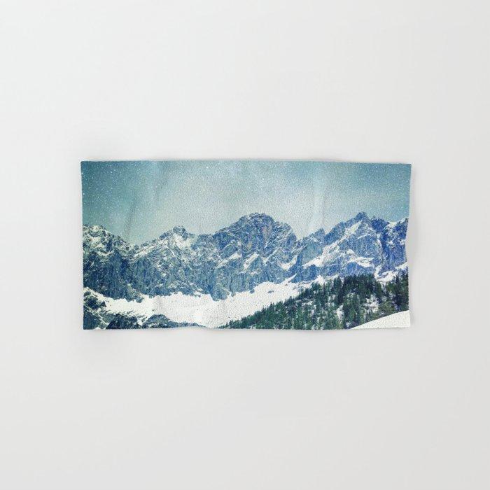 Snow Mountain V3 #society6 #buyart #decor Hand & Bath Towel