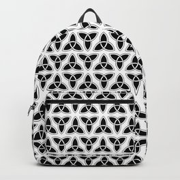 celtic trinity knot - triquetra pattern Backpack