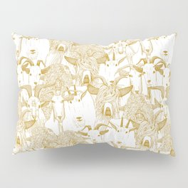 just goats gold Pillow Sham