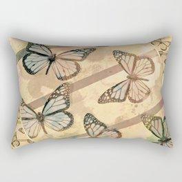 Butterfly collage Rectangular Pillow