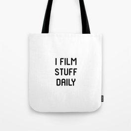 I Film Stuff Daily Movie Directors Film School Tote Bag