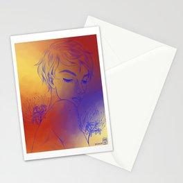 Spider Lily Boy Stationery Cards