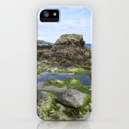 Beach on Iona iPhone Case