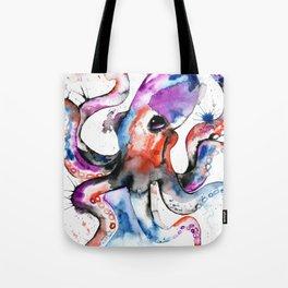 Octopus - Splatipus Tote Bag