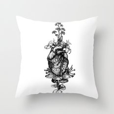 IN BLOOM #03 Throw Pillow