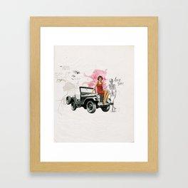 Bomshell Framed Art Print