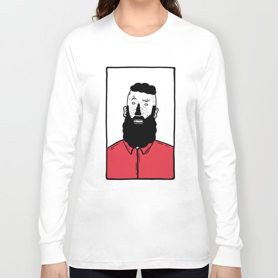 BearD Guy Long Sleeve T-shirt