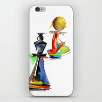 chess iPhone & iPod Skins featuring chess by tatiana-teni