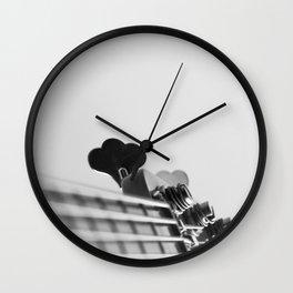 Basslovers Wall Clock
