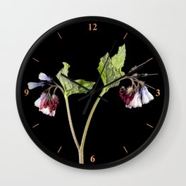 Comfrey Wall Clock