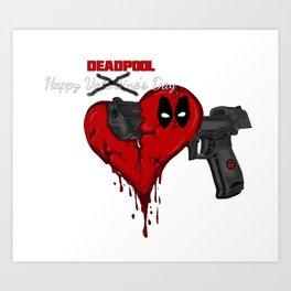 Happy Dead pool Day Art Print