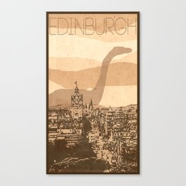 Every City Has Its Creature - Edinburgh  Canvas Print