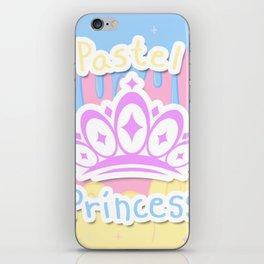 Pastel Princess iPhone Skin