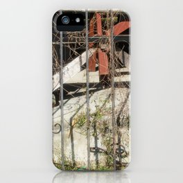 Behind the gate iPhone Case