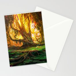 Enchanted Forest 2 Stationery Cards