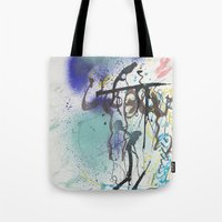 urban Tote Bags featuring Urban by Ana Guillén Fernández
