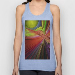 Fire dance Unisex Tank Top