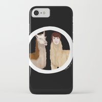 danisnotonfire iPhone & iPod Cases featuring Danisnotonfire Llama by Khrow