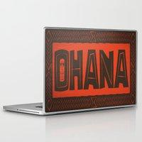 ohana Laptop & iPad Skins featuring Ohana by Big Batty Daddy