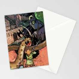 Bravery in Sandstone Stationery Cards