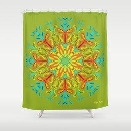 Gracias a la Vida (Verde) Shower Curtain