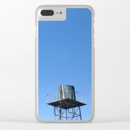 #Photo190 #213 #Blue #Watertenk and #Sky Clear iPhone Case